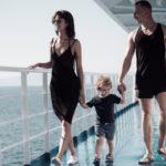 Familienurlaub auf dem Schiff