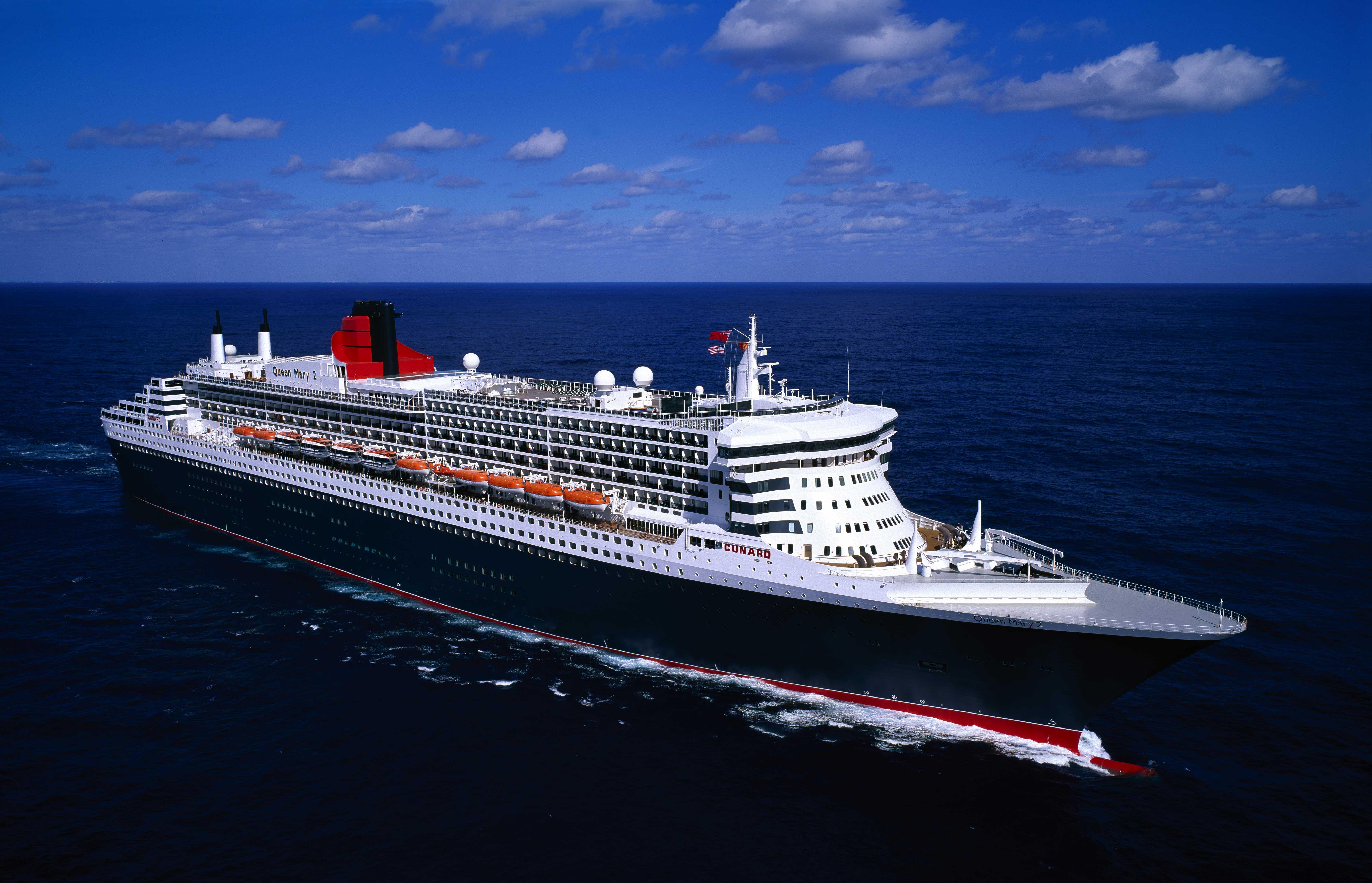Transatlantik Kreuzfahrt mit Cunard Line