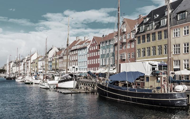 Der Kopenhagener Hafen liegt auf der Transatlantik-Route