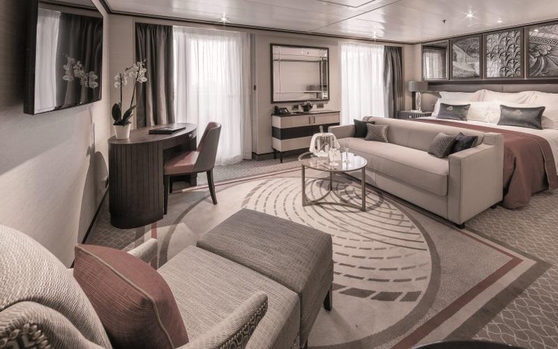 Die richtige Kabine will gefunden werden - wie wäre es mit einer Queens Suite?