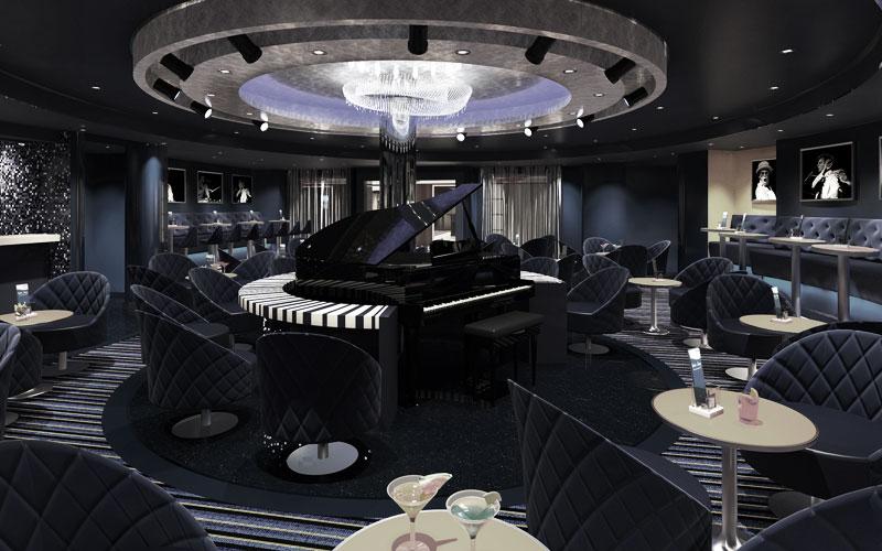 Piano Bar 88 auf den Carnival Schiffen