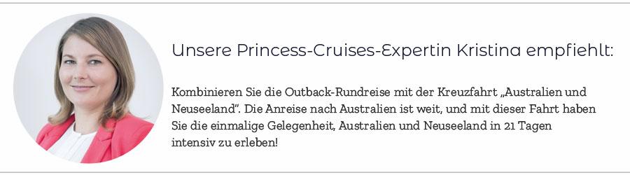 Die Princess Cruises Rundreise durch Australien ist einen Besuch wert
