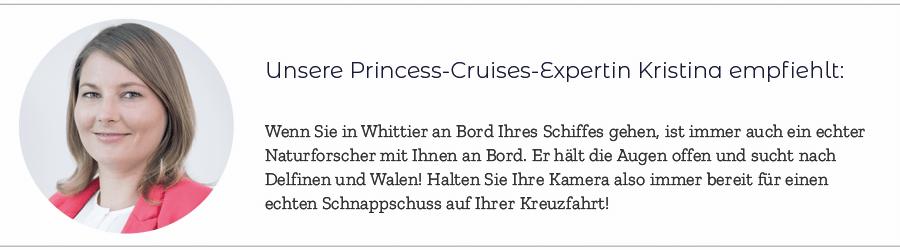 Princess Cruises Expertin Kristina 1