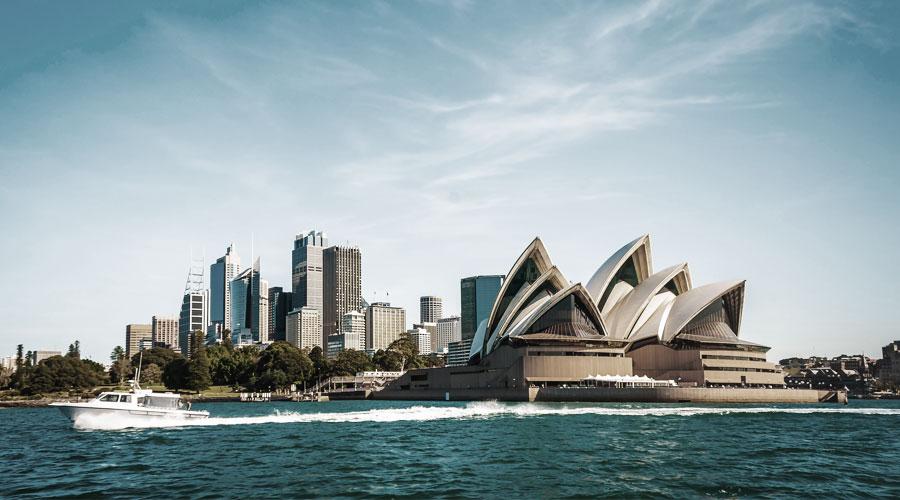 Die Australien Rundreise von Princess Cruises beginnt und endet in Sidney