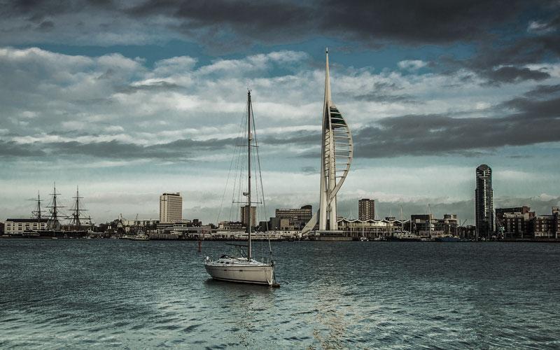 Das Tendern ist nicht in jedem Hafen erforderlich - Southampton ist groß genug