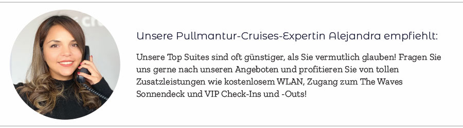 Pullmantur Cruises Expertin Alejandra