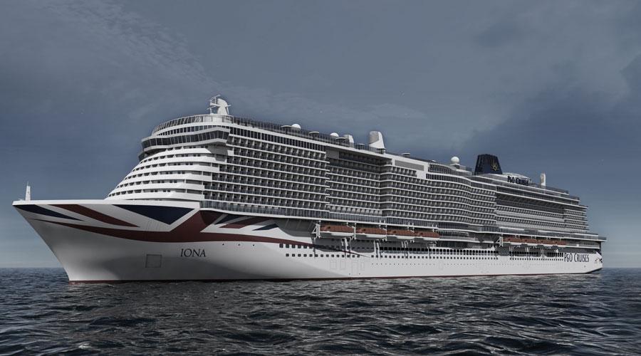 Kreuzfahrtschiff Iona der Reederei P&O Cruises