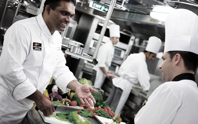 Cunard Galley Tour – Kreuzfahrt-Küche hautnah erleben