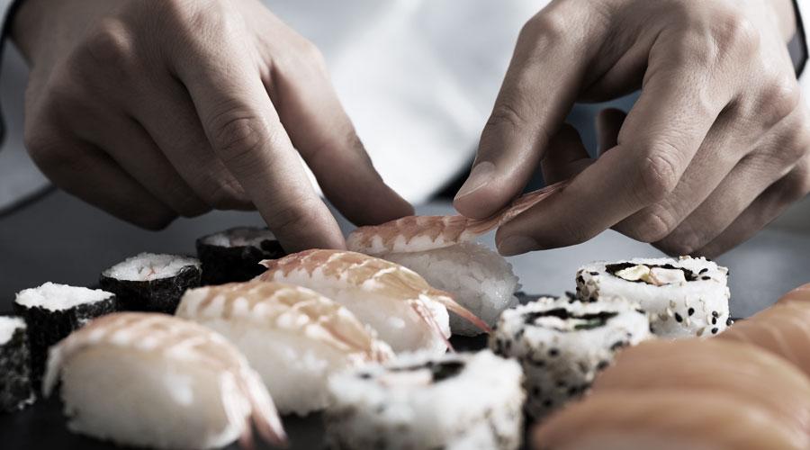 Sushi Ausflug bei kulinarischen Kreuzfahrten mit Princess Cruises